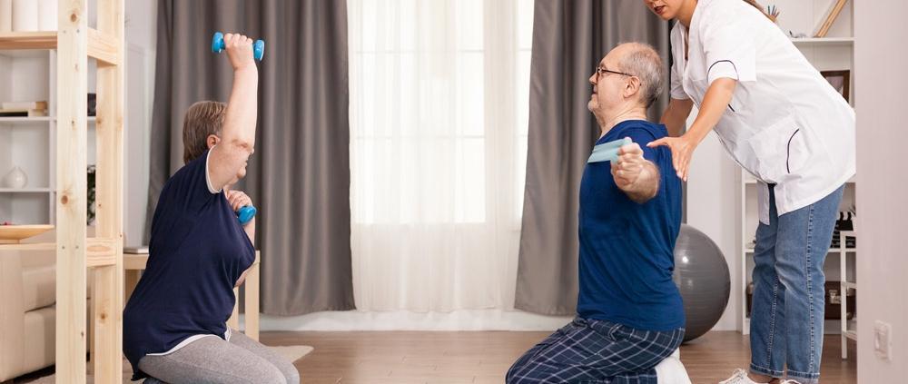 Badante convivente Como Sport anziani
