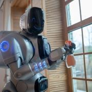 badante robot aes domicilio Como